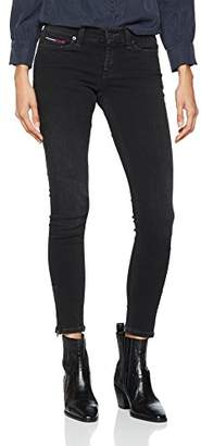 Tommy Jeans Women's Mid Rise Nora Skinny Jeans,W27/L32