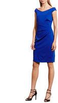 Lauren Ralph Lauren Jersey Solid Cap Sleeve Dress