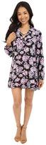 Brigitte Bailey Kyne Long Sleeve Floral Shift Dress