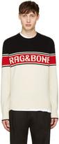 Rag & Bone Tricolor Matthew Sweater
