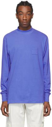 Aimé Leon Dore Blue Dimebag Long Sleeve T-Shirt
