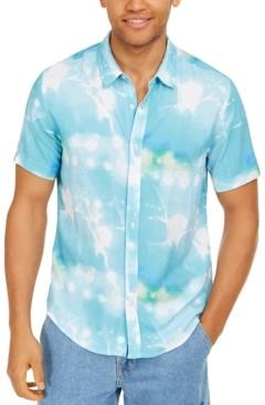 GUESS Men's Rogan Splatter Graphic Shirt