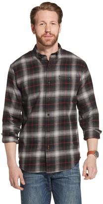 G.H. Bass Men's Fireside Regular-Fit Plaid Flannel Button-Down Shirt