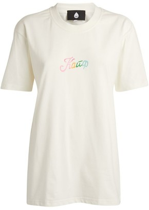Natasha Zinko Oversized Slogan T-Shirt