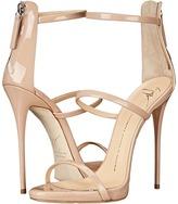 Giuseppe Zanotti High Heel Back-Zip Three-Strap Sandal Women's Shoes