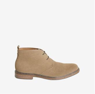 Joe Fresh Men's Faux Suede Desert Boots, Taupe (Size 10)