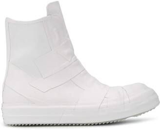 Rick Owens Panelled Ankle Boots