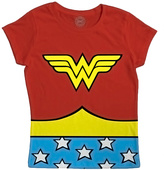 Bioworld Wonder Woman Caped Tee - Kids