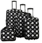 Rockland 4-Piece Luggage Set