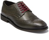 Modern Fiction Idiom Leather Wingtip Derby
