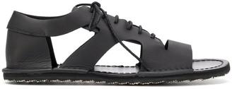 Yohji Yamamoto Lace-Up Flat Sandals