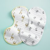 Baby Essentials aden + anais Giraffe and Monkey Burpy Bib Set