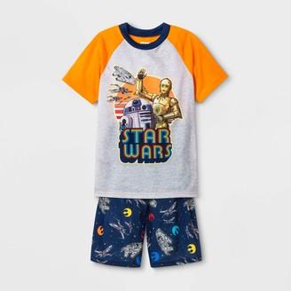 Star Wars Boys' 2pc Short Sleeve Pajama Set -
