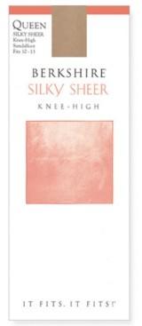 Berkshire Silky Sheer Knee-High, Queen Size