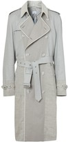 Burberry panelled trench coat
