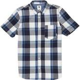Element Men's Deschutes Yarn-Dyed Check Short Sleeve Woven Shirt
