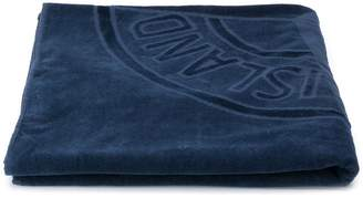 Stone Island Junior Terry Cloth Logo Towel