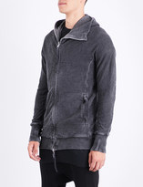 Boris Bidjan Saberi Faded cotton-jersey hoody