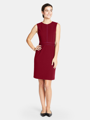 Of Mercer Russell Dress - Ruby