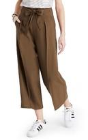 Madewell Women's Tie Front Wide Leg Pants