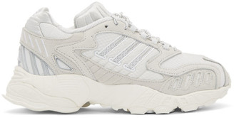 adidas White Torsion TRDC Sneakers