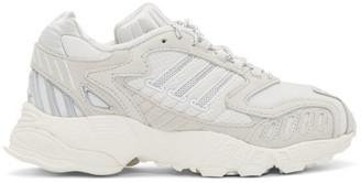 adidas White Torsion TRDC Sneakers