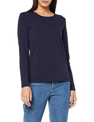 Gant Women's COTT/ELA C-Neck LS T-Shirt Longsleeve (Evening Blue 433), XXXL
