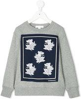 Burberry Beasts patch sweatshirt