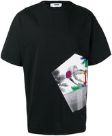 MSGM skate print T-shirt - men - Cotton - M