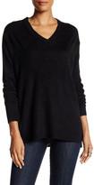 Sweet Romeo Oversized V-Neck Pullover Sweater