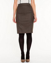 Le Château Textured Pencil Skirt