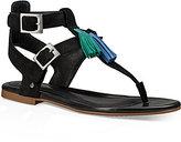 UGG Lecia Tassel Thong Sandals