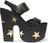 Stella McCartney Faux Leather Platform Sandals - IT38