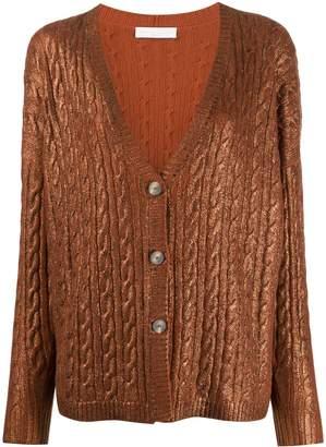 Fabiana Filippi oversized cashmere cardigan