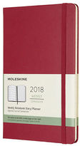 Moleskine NEW 2018 Large Red Hardcover Weekly Diary