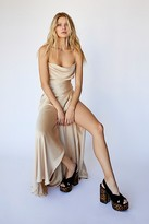 Fame & Partners The Rosabel Maxi Party Dress by at Free People