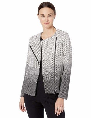 Nic+Zoe Women's Petite Connect The DOTS Jacket