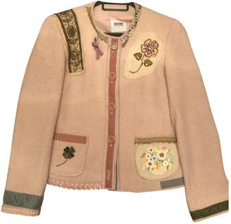 Moschino Cheap & Chic Moschino Cheap And Chic Pink Tweed Jacket for Women
