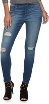 Juicy Couture Women's Flaunt It Ripped Skinny Jeans