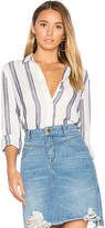 DL1961 Mercer & Spring Regular Fit Button Up in White. - size L (also in M,S,XS)