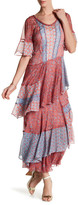 Rebecca Taylor Amanda Silk Ruffle Dress