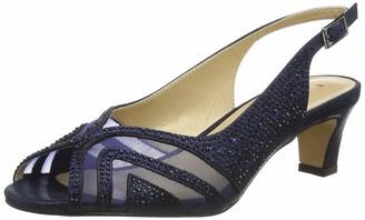 Lotus Women's Glinda Open Toe Heels