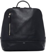 Shinola Mini Zip Leather Backpack