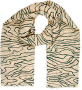 By Malene Birger Printed Wool Scarf w/ Tags
