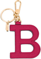 Bally 'B' key chain - women - Calf Leather/Brass - One Size