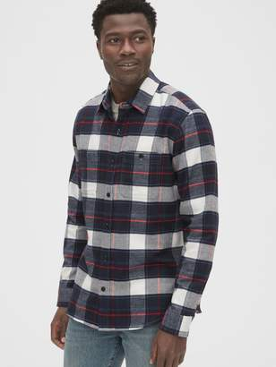 Gap Flannel Work Shirt