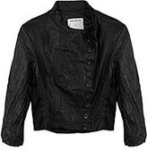 Gary Graham Leather Linen Jacket
