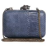 House Of Harlow Blue Leather Clutch bag