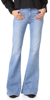 Derek Lam 10 Crosby Noha Mid Rise Sexy Flare Jeans