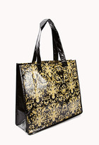 Forever 21 Baroque Shopper Tote